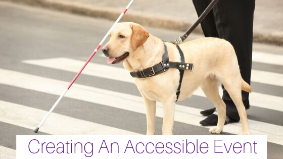 Creating An Accessible Event