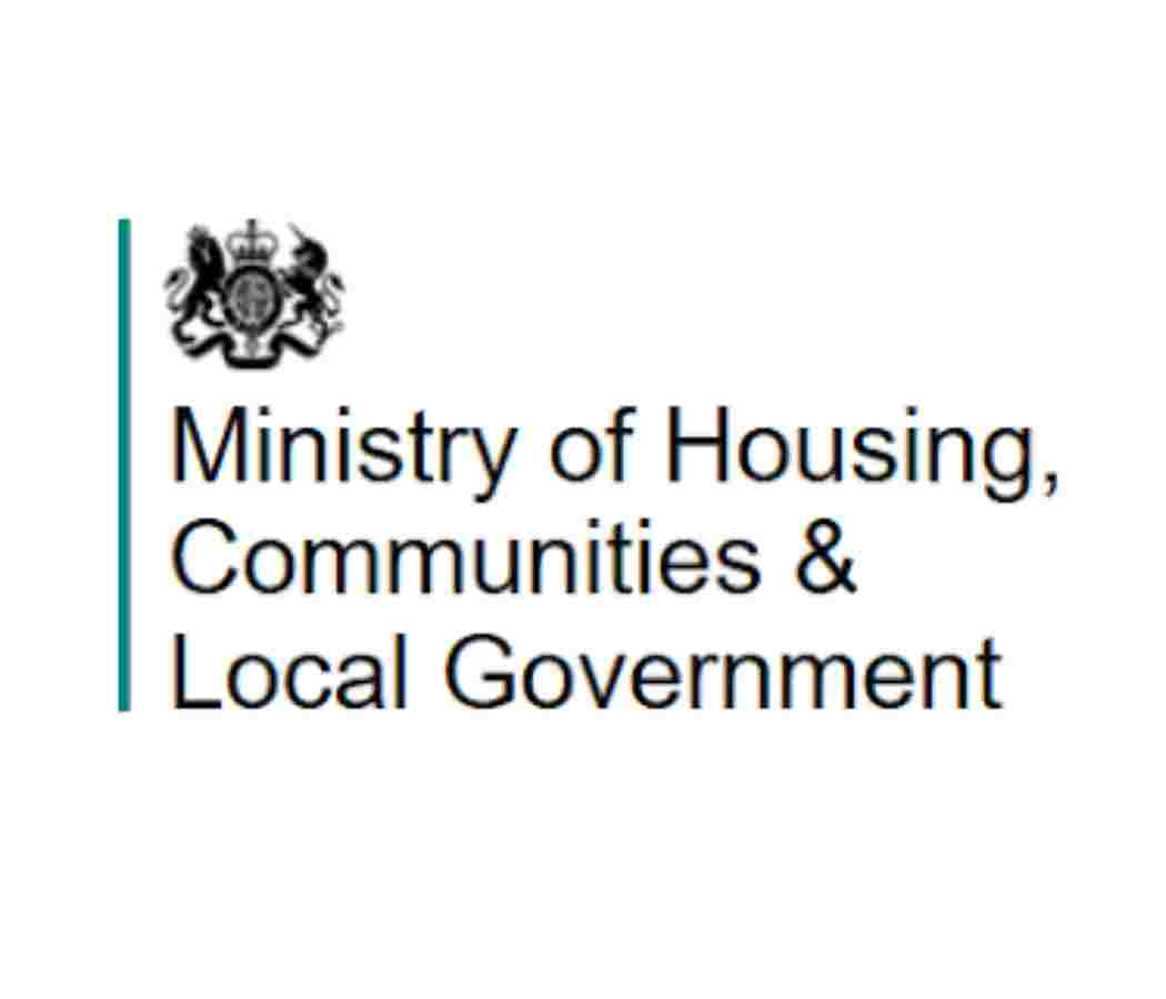 Ministry of Housing, Communities & Local Government logo - previous clients of Celebrating Disability - Disability Awareness Support for your business