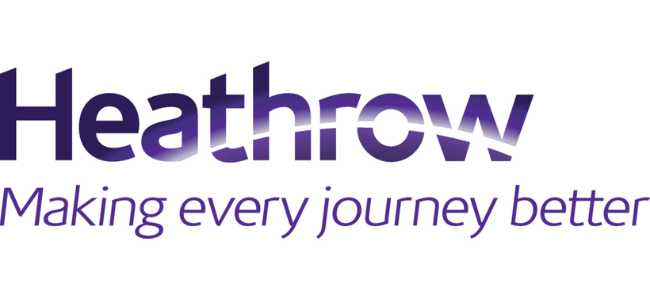 Heathrow Airport logo - clients of Celebrating Disability - Disability Awareness Support for your business