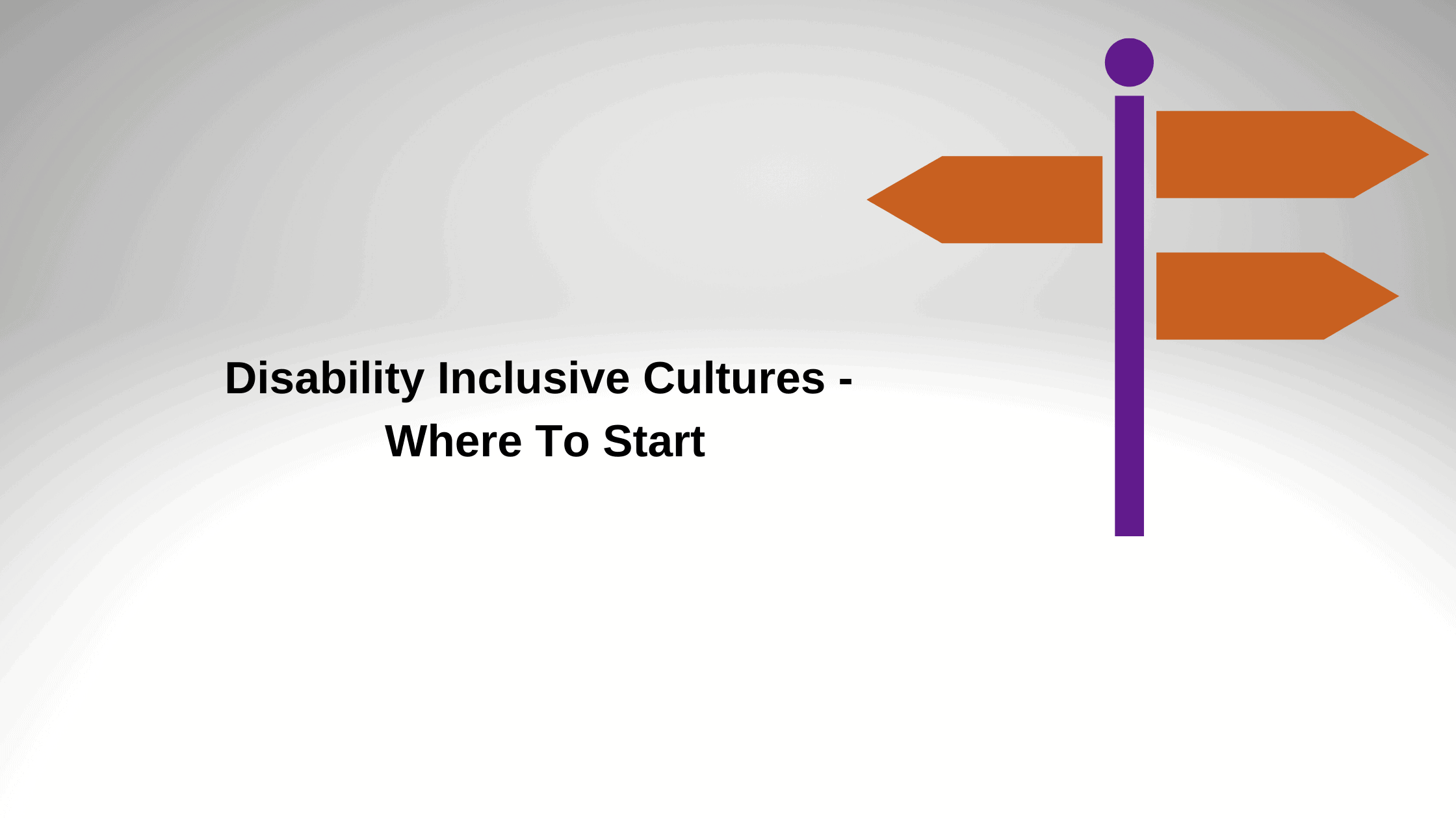 "Featured image for ""Disability Inclusive Cultures – Where To Start"""